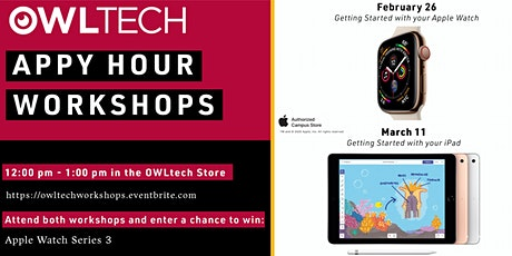 OWLtech Appy Hour Workshop Two: Getting Started with your iPad tickets