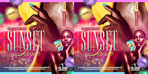 The Lundi Gras Sunset Soiree at The Grind