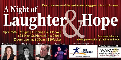 Laughter and Hope tickets