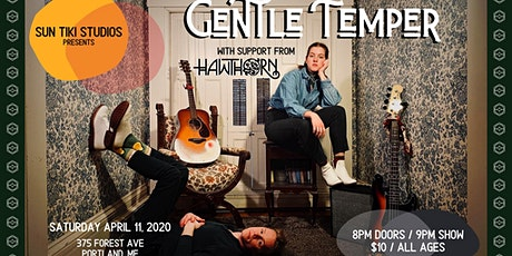 Gentle Temper // Ghost Wolves // Hawthorn tickets
