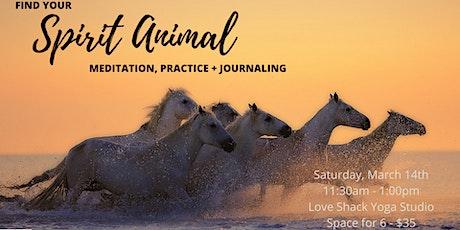 Meditation Workshop: Find Your Spirit Animal tickets