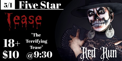 "Five Star Tease 5/1 ""The Terrifying Tease"" with Red Rum"