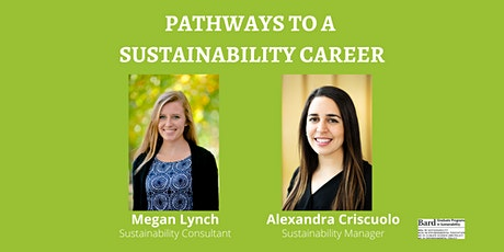 Pathways to a Sustainability Career tickets
