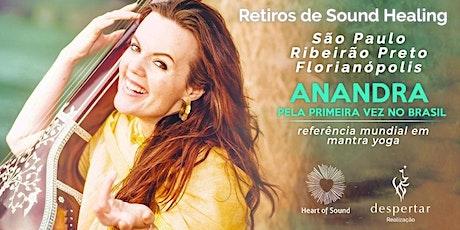 Imersão em Mantra Yoga com Anandra George  - Ribeirão Preto ingressos