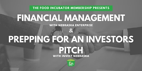 Financial Management & Prepping for an Investors Pitch tickets