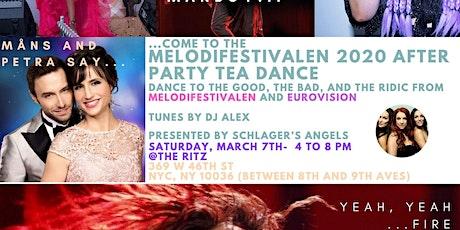 Melodifestivalen 2020 After Party Tea Dance tickets