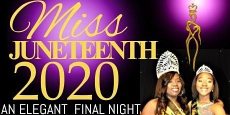 Miss Juneteenth Pageant 2020
