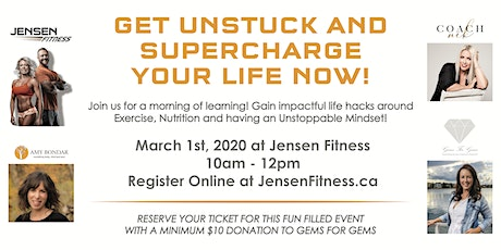 Im Stuck Now What? - Get Unstuck and Supercharge your life NOW! tickets