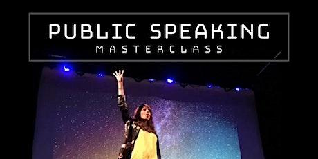 Public Speaking Masterclass entradas