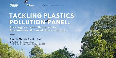 Bethesda Green x Follain Present: Tackling Plastics Pollution Panel tickets