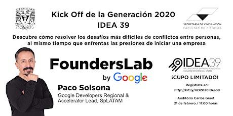 FoundersLab by Google tickets