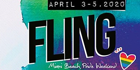 Fling  Women's Pride Weekend Miami Beach - Saturday April 4, 2020 tickets