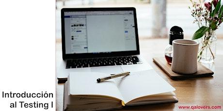 QALovers Academy online - Introducción al Testing  I entradas