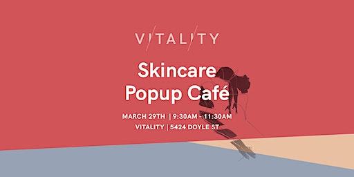 Skincare Pop Up Café