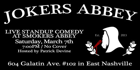 Jokers Abbey tickets