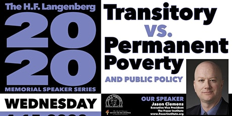 Transitory vs. Permanent Poverty, and Public Policy tickets