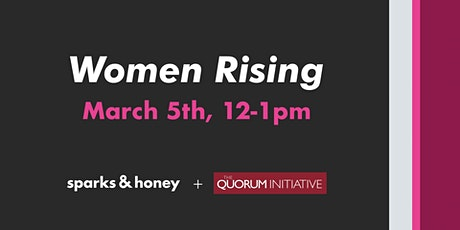 WOMEN RISING tickets