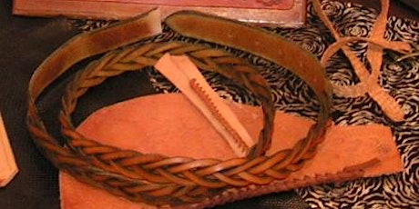 Mystery 3 Plait Belt Workshop at Leffler Leather with Les Williams tickets