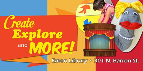 Create, Explore & More for Families tickets