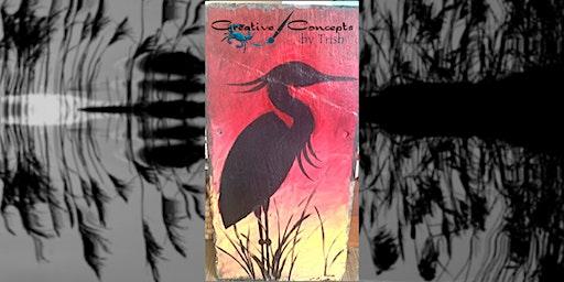 Heron Slate Paint Night