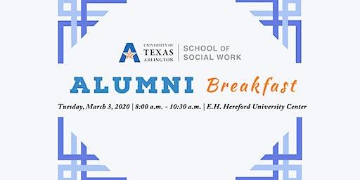 UTA School of Social Work Alumni Breakfast