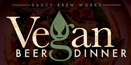 Vegan Beer Dinner - CANCELLED tickets