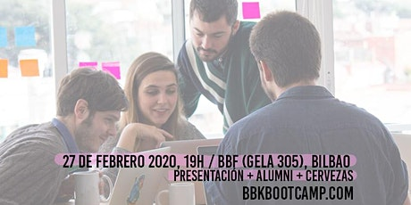 Info Day BBK Bootcamp ¡Nueva convocatoria Abril-Julio 2020! tickets