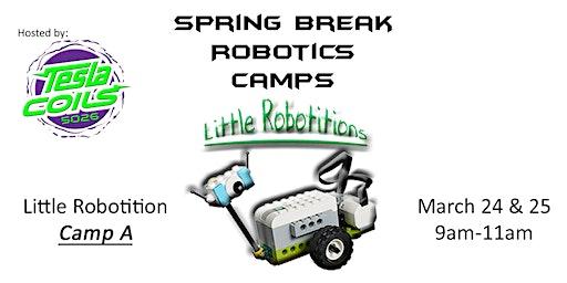 Little Robotitions Robotics Camp A