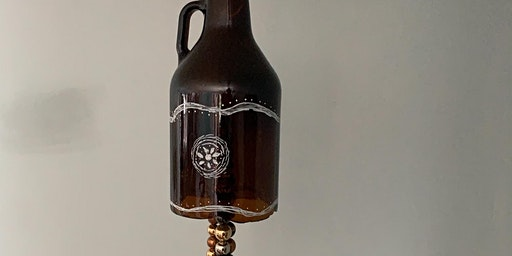 Growler Wind Chime @ Frogg Brewing