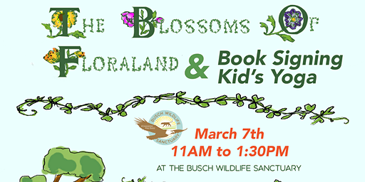 The Blossoms of Floraland Signing and Kid's Yoga
