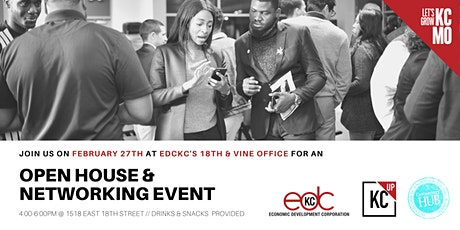 EDCKC's Open House on 18th and Vine tickets