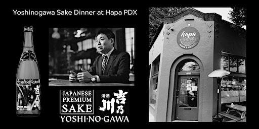 Yoshinogawa Sake Dinner at Hapa PDX