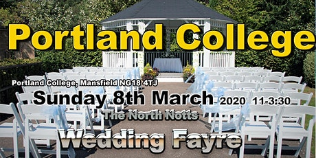 The Mansfield summer wedding fayre at Portland College tickets
