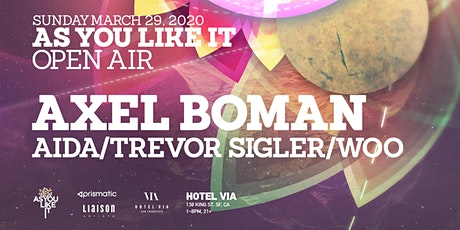 As You Like It Open Air with Axel Boman (Extended Set) tickets