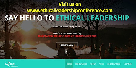 Ethical Leadership : Business Conference tickets