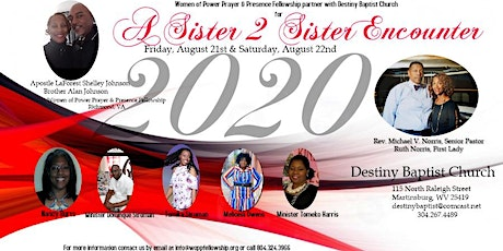 A Sister 2 Sister Encounter tickets