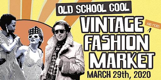 Old School Cool Vintage Fashion Market at Improper City - Free!