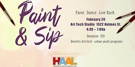 Paint & Sip Hallmark Edition  tickets