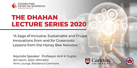 The Dhahan Lecture Series – Ottawa tickets