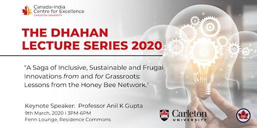 The Dhahan Lecture Series – Ottawa
