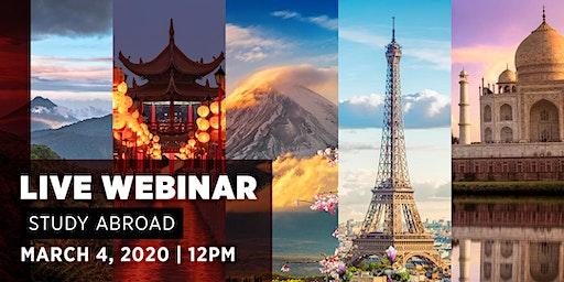 Study Abroad Webinar