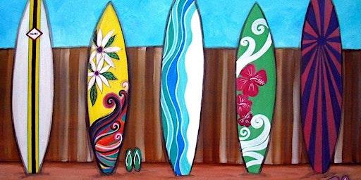 Summer Art Camp - Surf Art Camp 6.29 - 7.3.20
