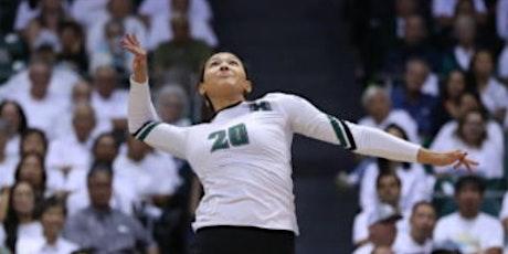 County of Kaua```i & UH Women's Volleyball High School Clinic 2 tickets