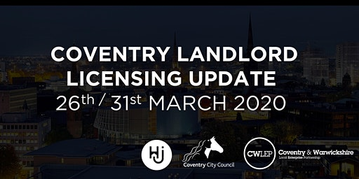 COVENTRY LANDLORD  LICENSING UPDATE