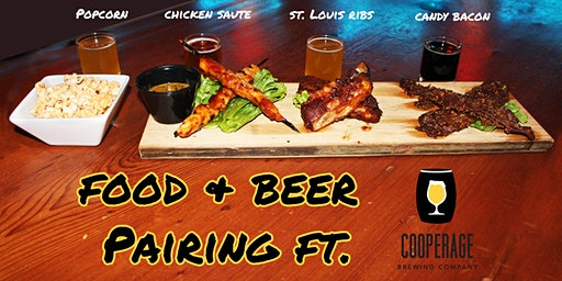 Food & Beer Paring with Cooperage Brewing