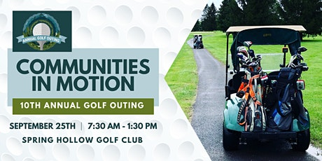 10th Annual Golf Outing  tickets