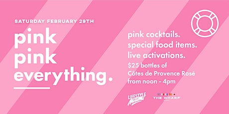 Pink Pink Everything at The Wharf Miami tickets