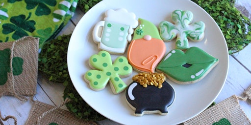 Flour Child presents a St. Patty's Day Cookie Class