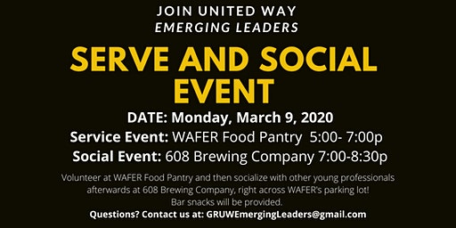 Serve and Social- March 9, 2020