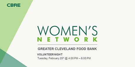 Women's Network Food Bank Volunteer Night! tickets